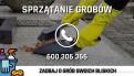Sprzątanie grobów, mycie grobów Legnica
